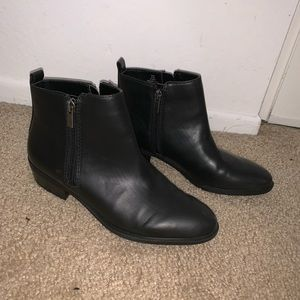 Chaps Ankle Booties